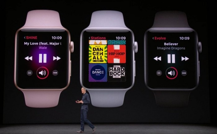 apple watch series 3 music