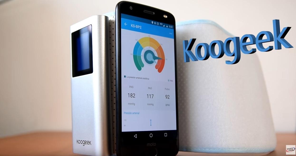 baumanómetro Digital con Bluetooth de KooGeek review poderpda