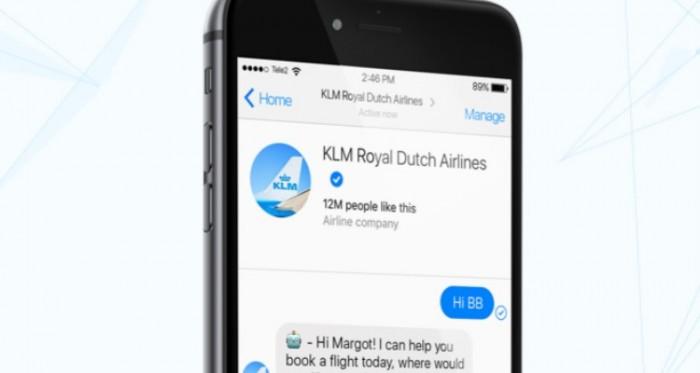 BlueBot se suma a KLM para mejorar la atención al cliente