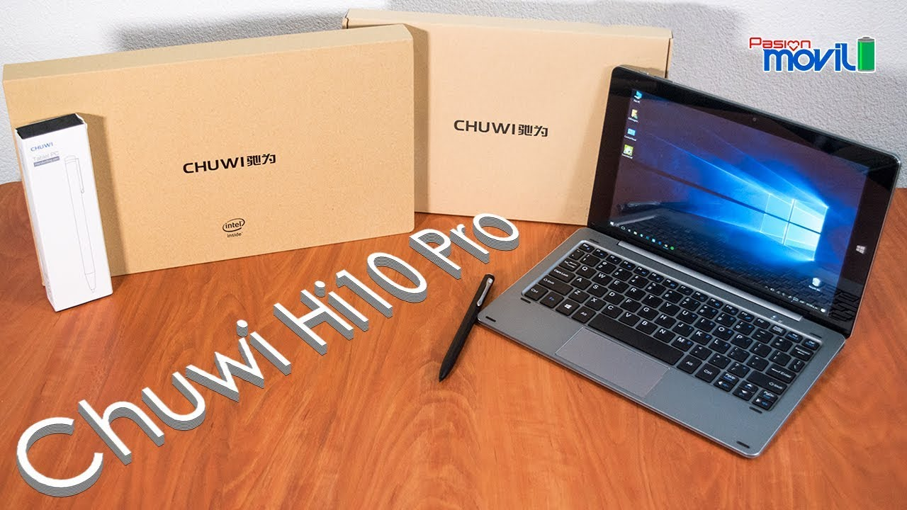 Te presentamos el Chuwi Hi10 Pro