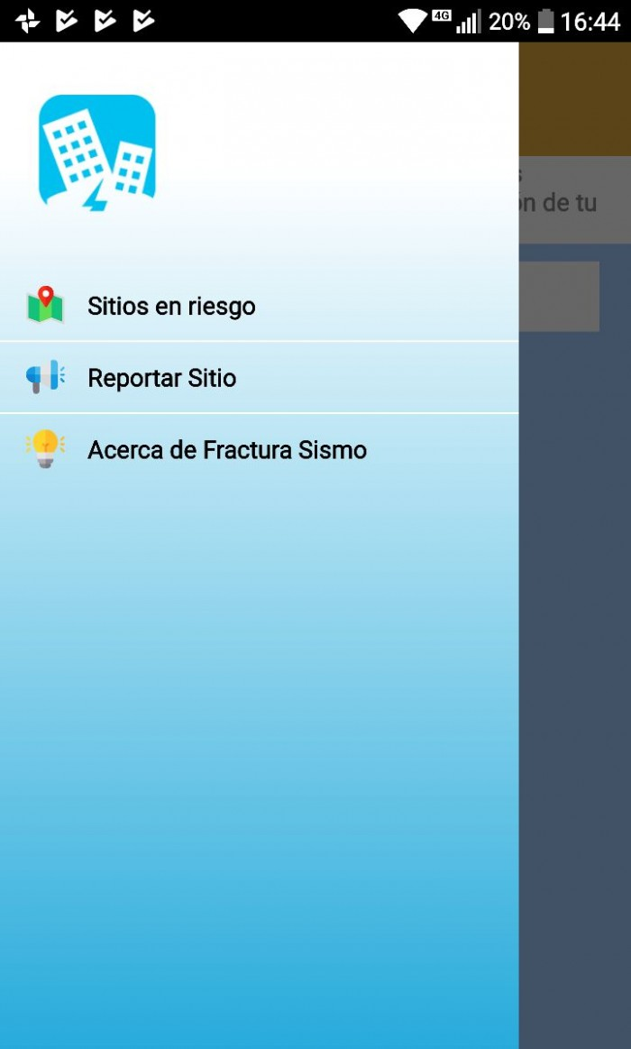 fractura sismo android