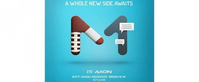 Invitación para el lanzamiento del ZTE Axon M