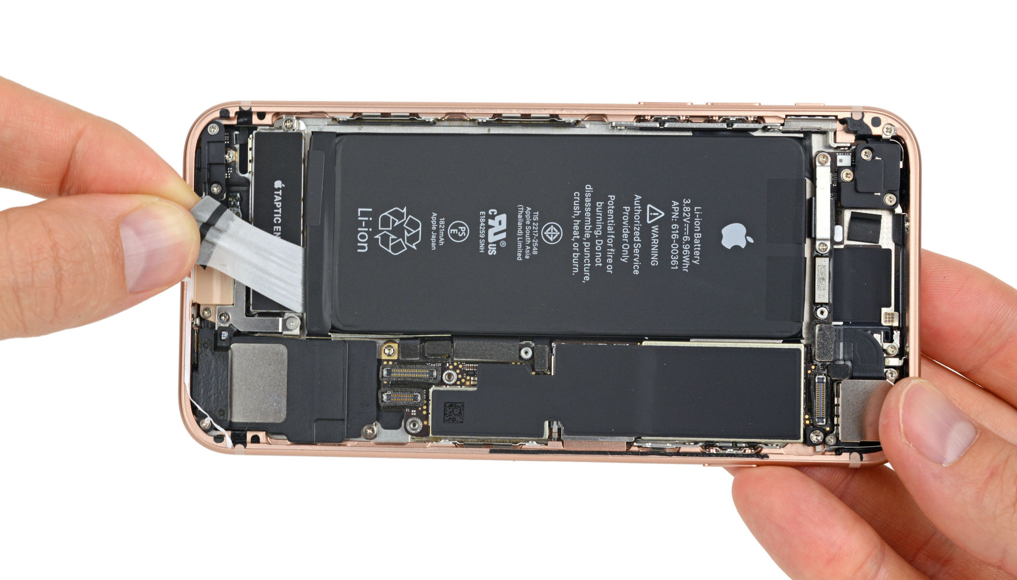 iphone 8 desarmado ifixit