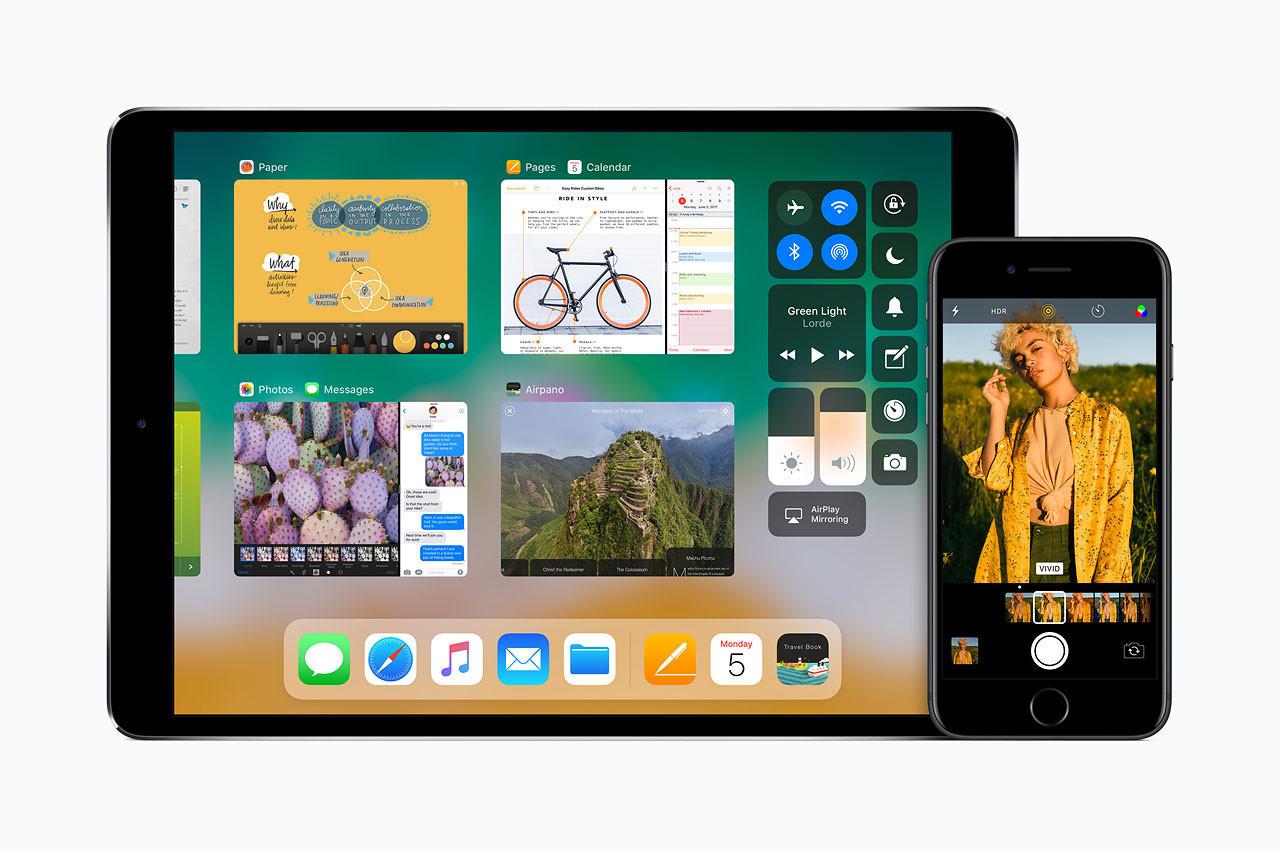iphone ios 11 ipad