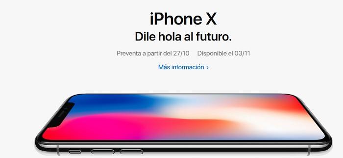 iphone x preventa mexico