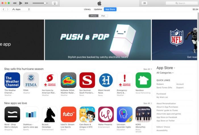 itunes adios ios app store