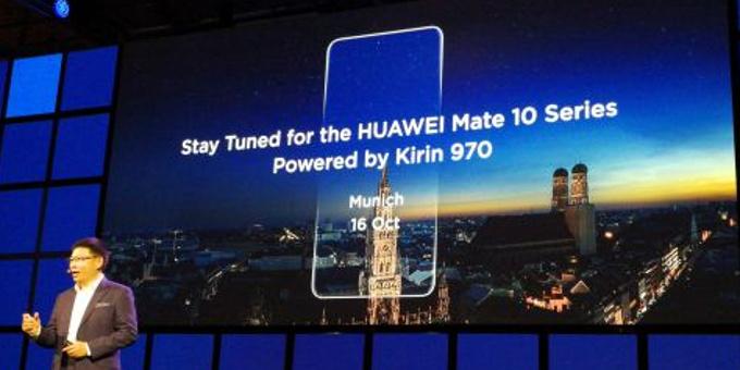 Los nuevos Huawei Mate 10 arribarán en Octubre