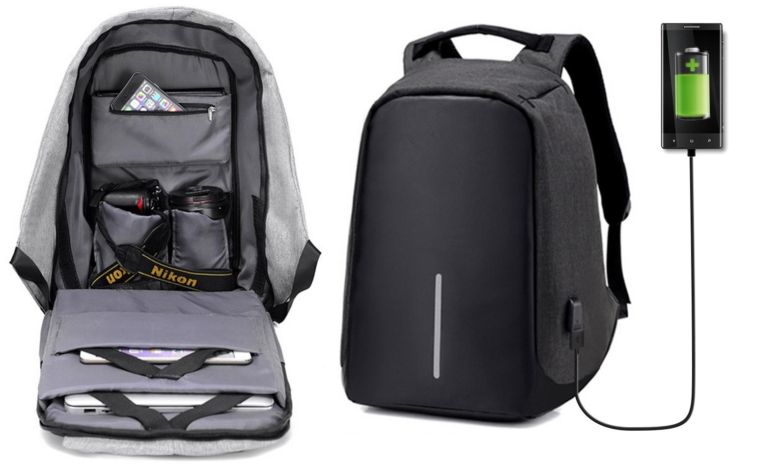 Te presentamos una mochila anrirrobo y a prueba de agua