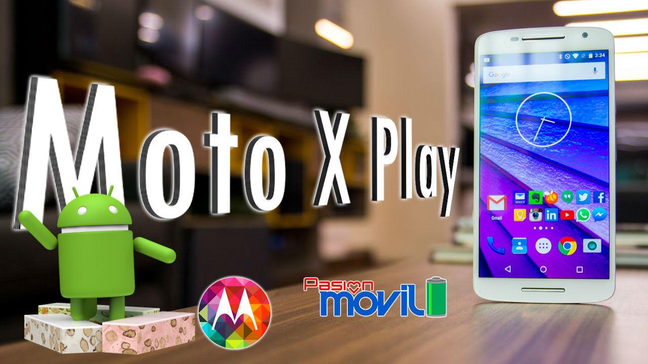 Motorola actualiza finalmente el Moto X Play