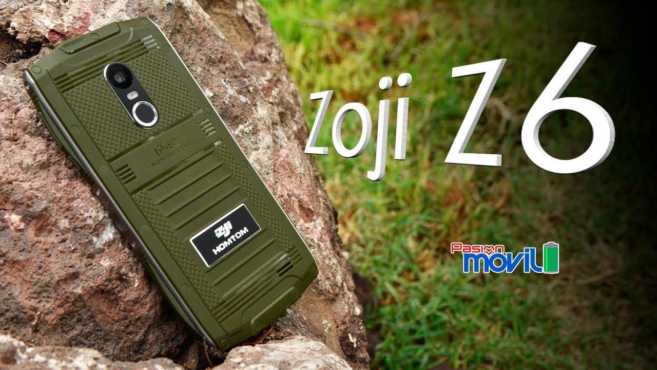 Zoji Z6 es uno de los más económicos dispositivos con IP68