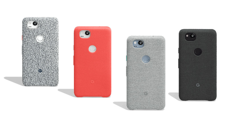 Google-Pixel-2-funda tela