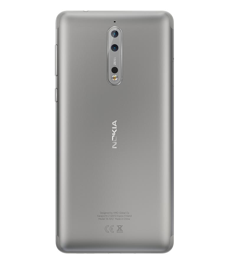 Nokia 8 Acero