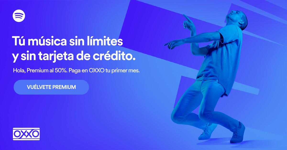 Spotify Premium Oxxo
