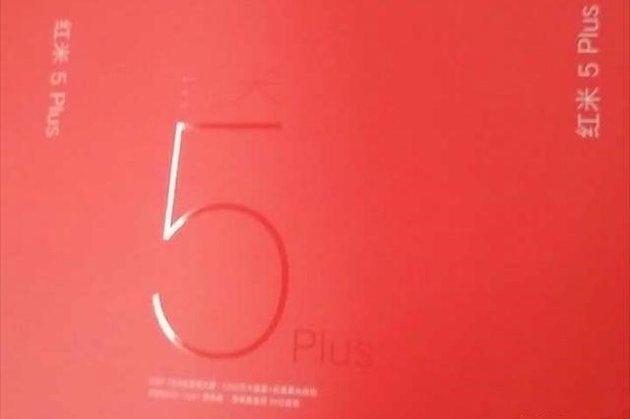 Este sería el empaquetado del posible Xiaomi Redmi 5 Plus