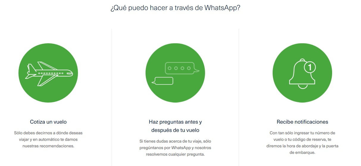 aeromexico servicios whatsapp