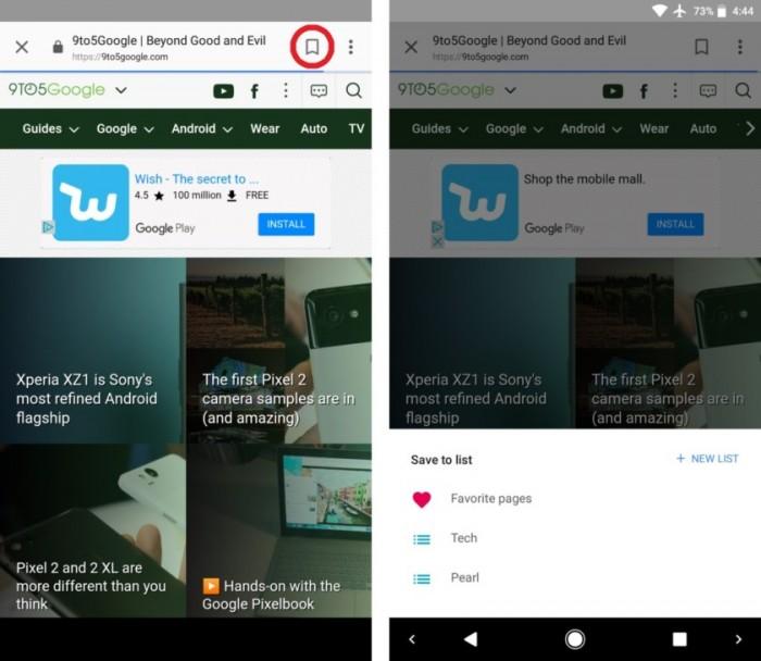 La app de Google ya te permite guardar las webs