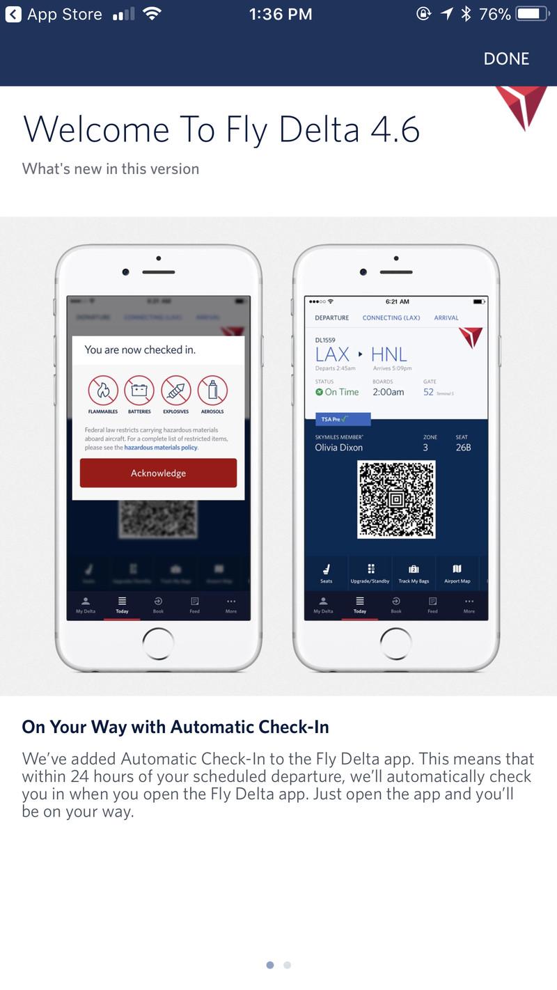 delta airlines app ios
