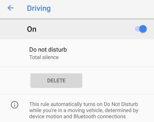 Fácilmente, puedes configurar la activación automática del modo No Molestar mientras conduces