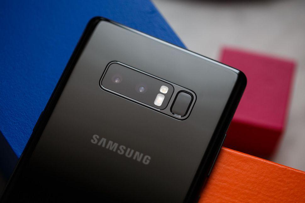 Galaxy Note 8 también tiene una de las mejores cámaras del mercado