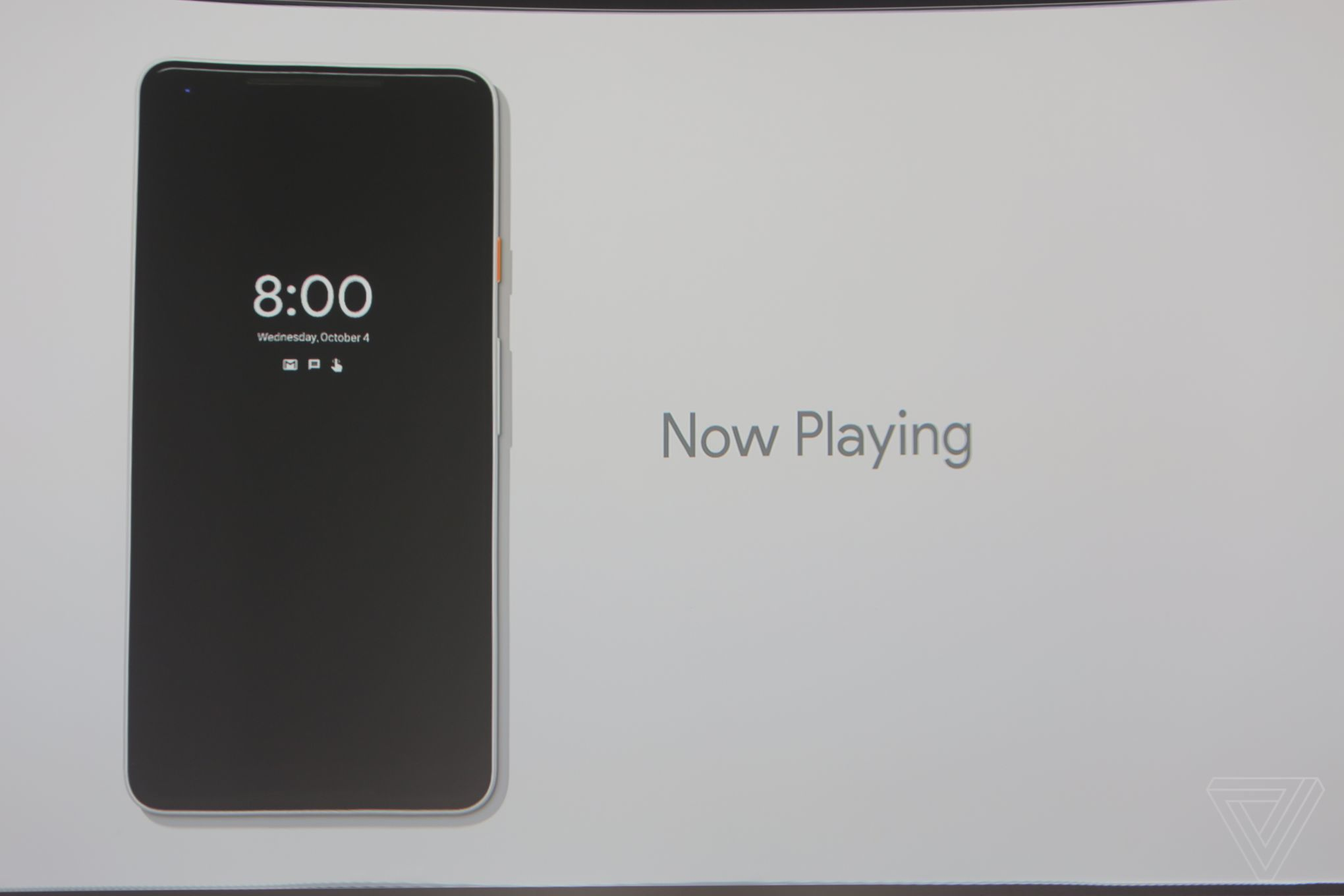 google-pixel-2-now playing