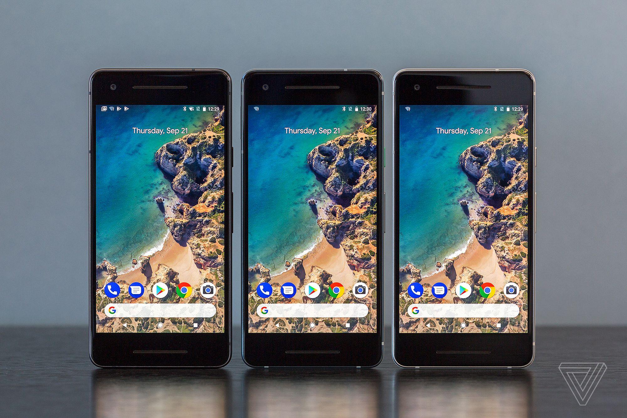 google pixel 2 portada