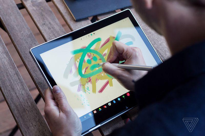 google pixel book dibujo