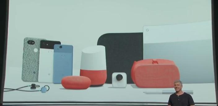 google productos lanzados 4 octubre