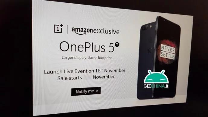 OnePlus 5T - Anuncio