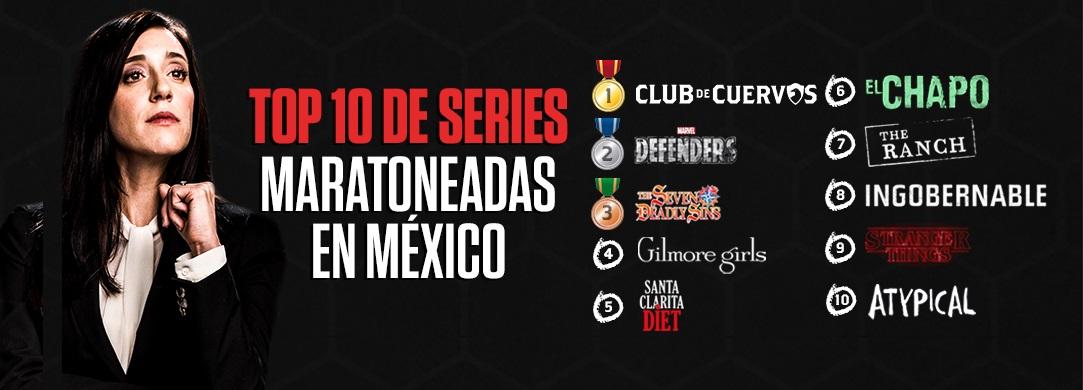 series netflix mexico