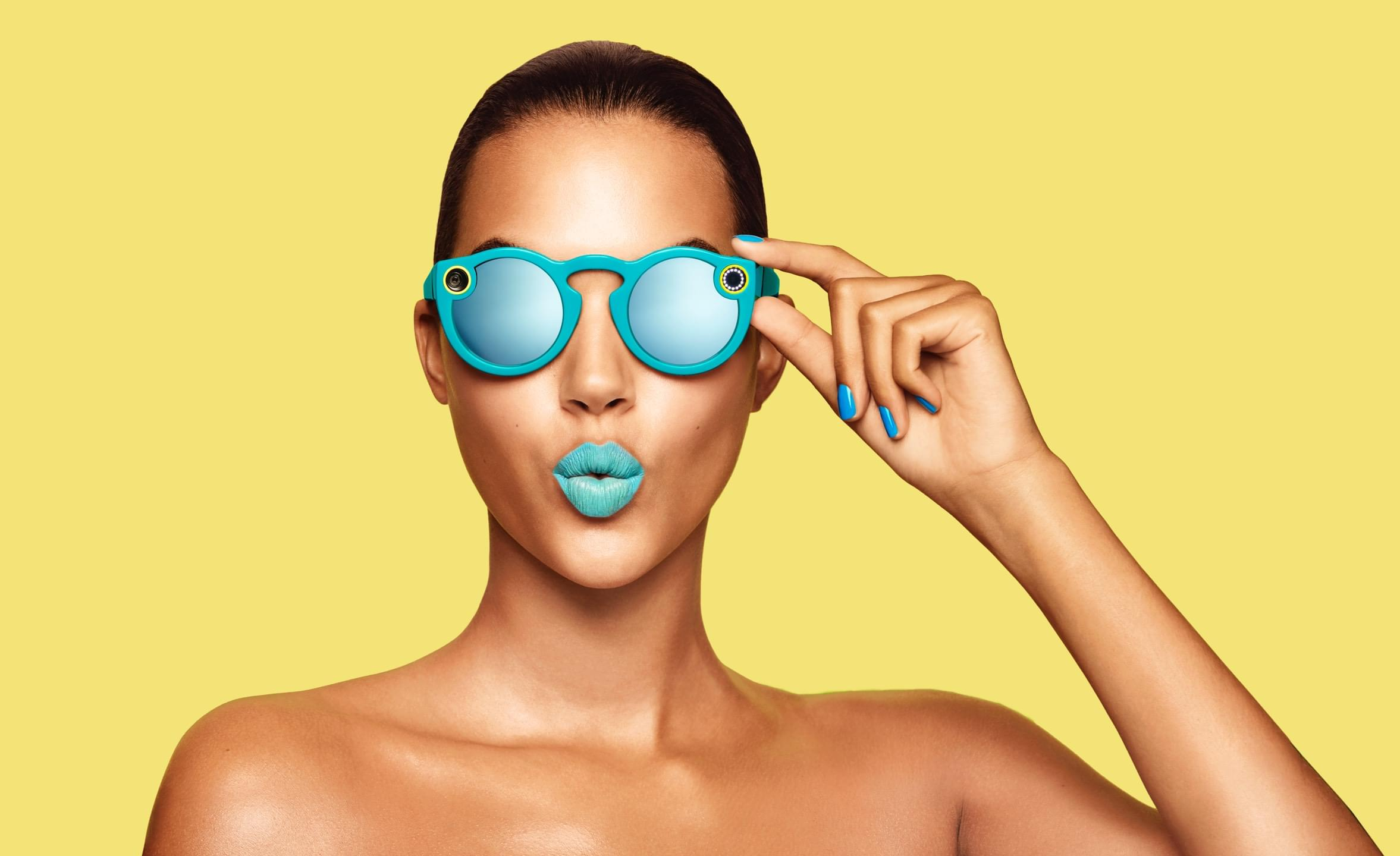 spectacles azul