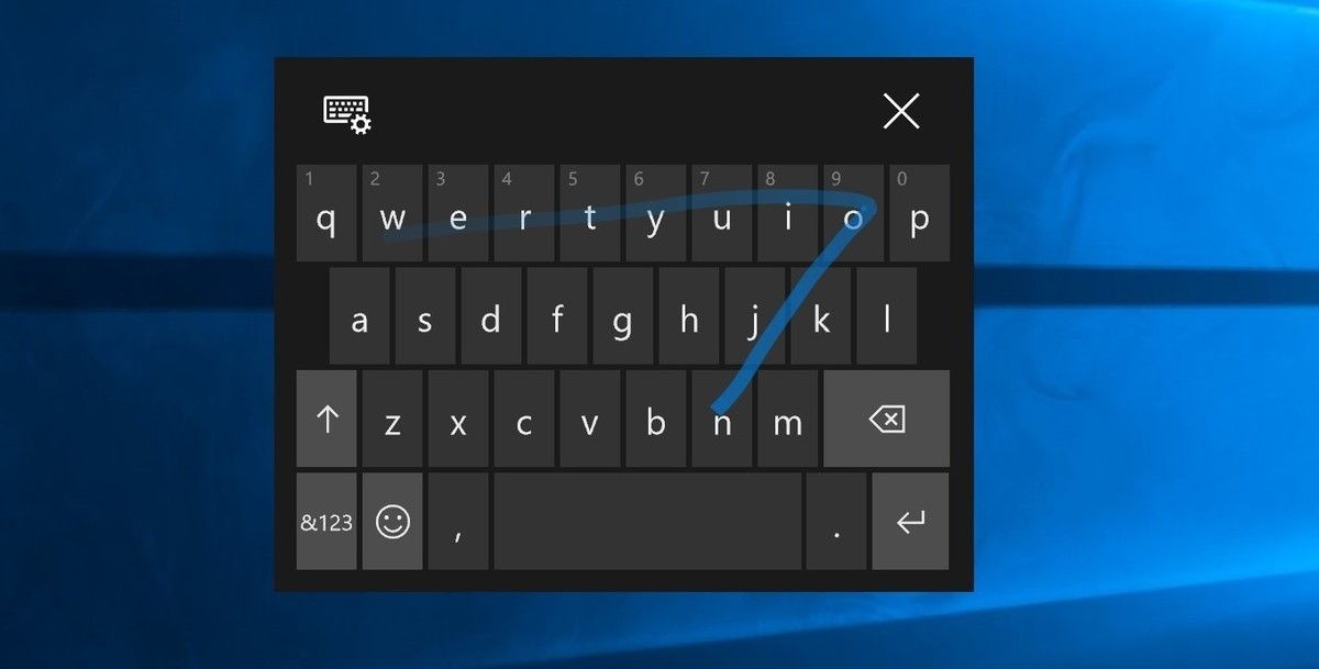 wordflow teclado windows 10 fall creators update