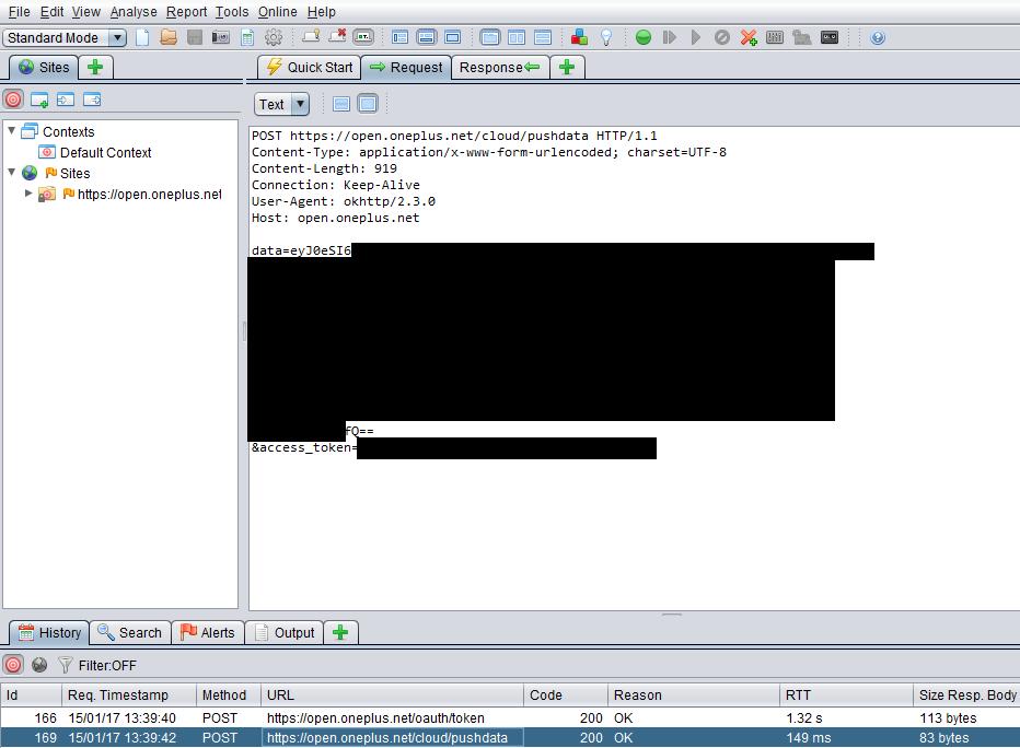 El dominio open.oneplus.net recolecta información de todo tipo sin permiso de los usuarios