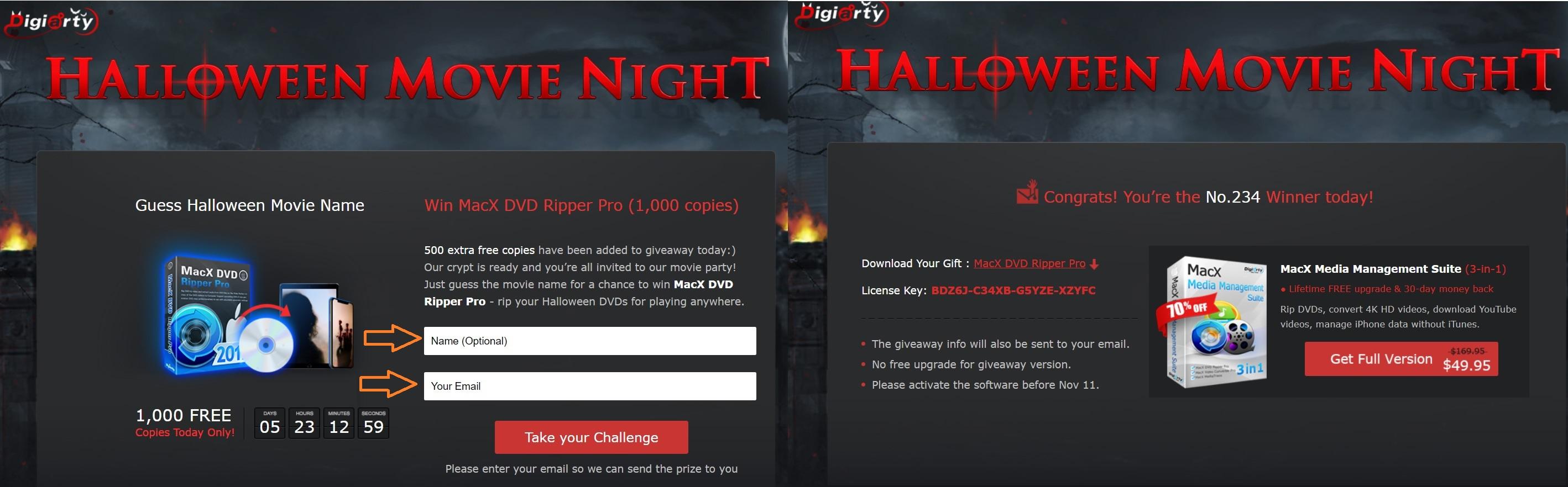 MacX DVD Ripper Pro_giveaway hallowen