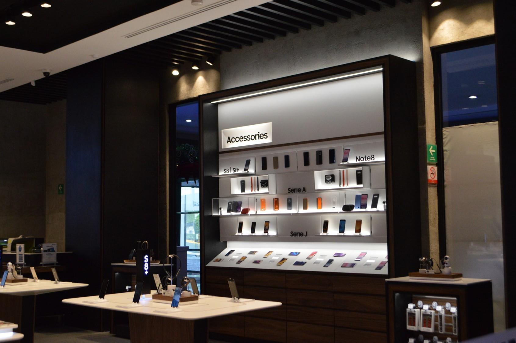 Samsung Experience Store exhibicion