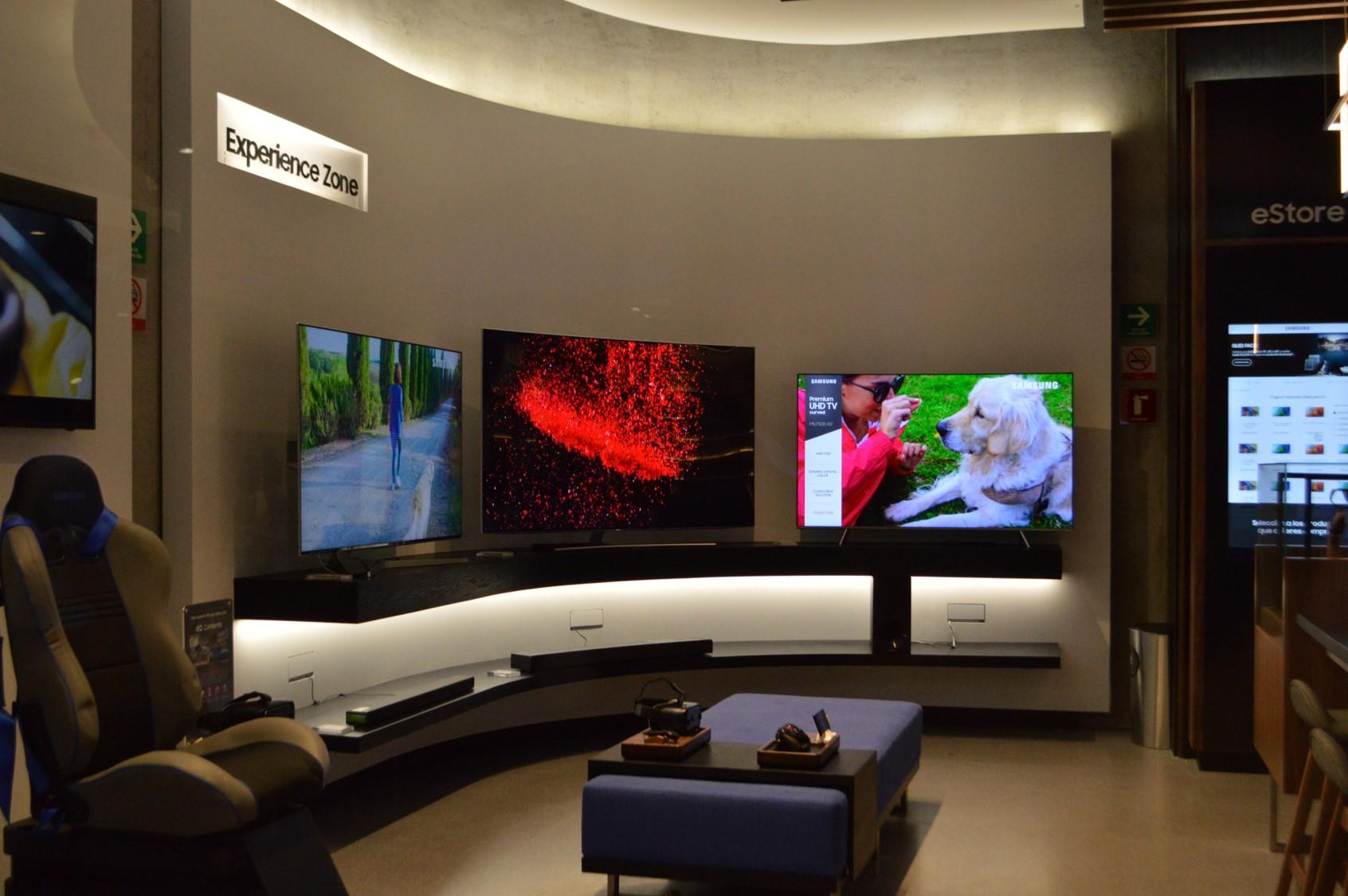 Samsung Experience zone