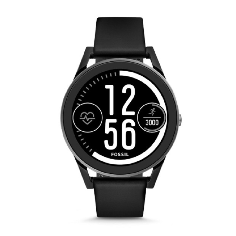 fossil smartwatch q control deportivo negro