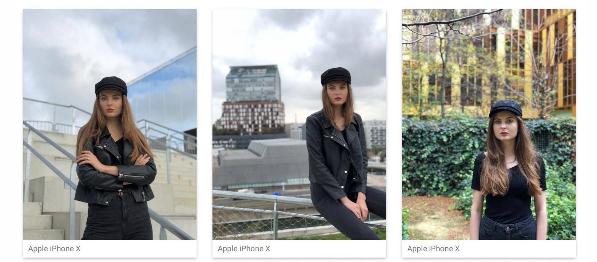 fotografias muestra del iPhone X