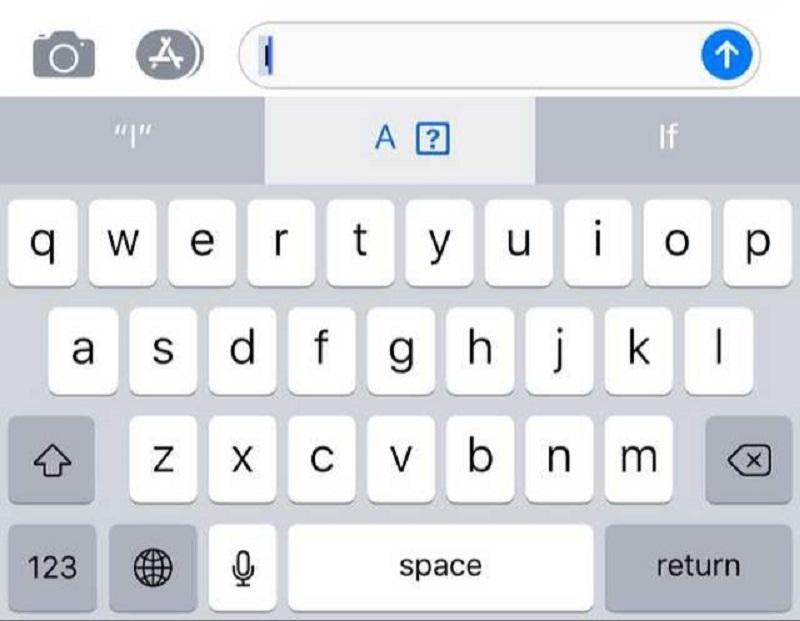 ios 11.1 bug letra i teclado