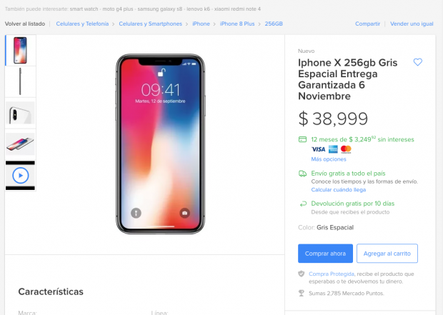iphone x mercadolibre_2
