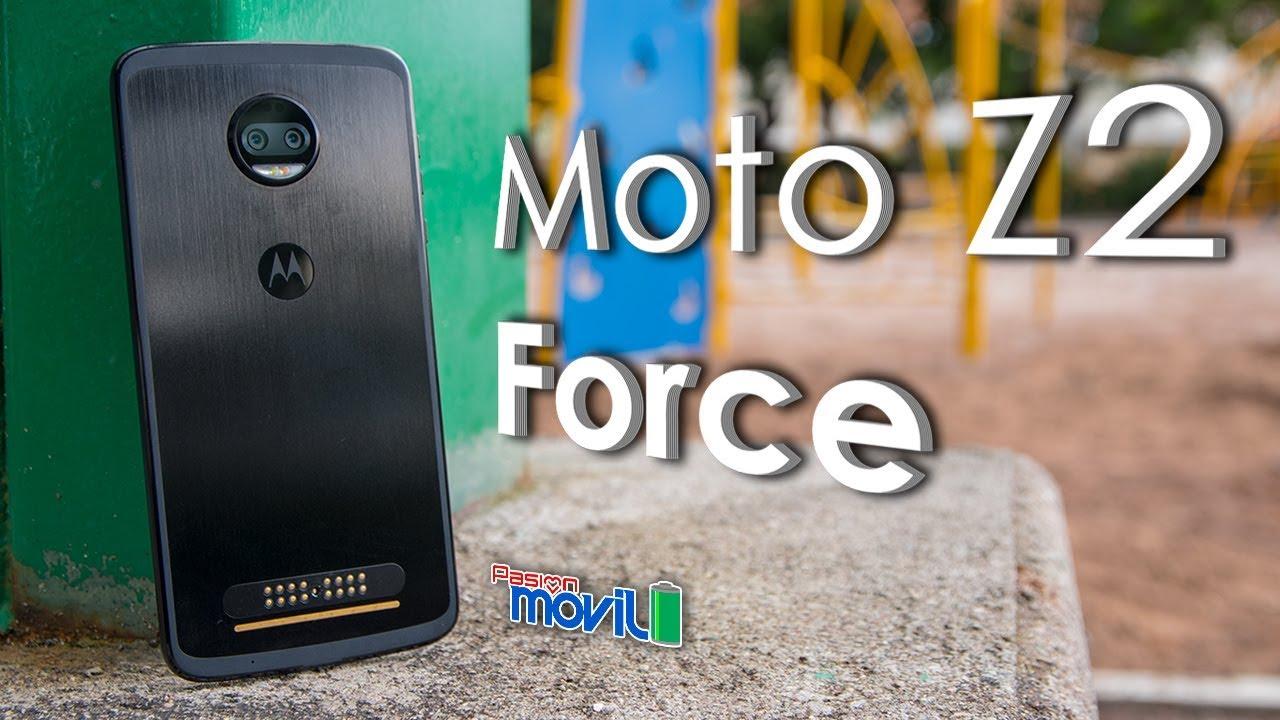 moto z2 force analisis