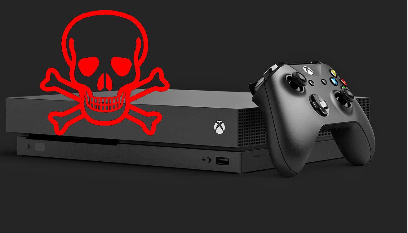 Tu Xbox One X Scorpio Edition podría morir pronto