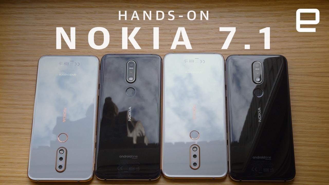 Así es el nuevo Nokia 7.1, presentado hoy