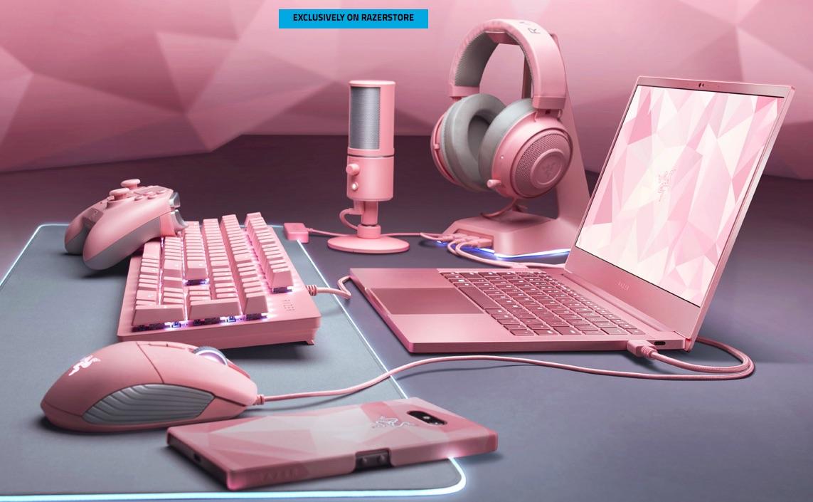 Razer Presenta Su Primera Laptop Gamer En Color Rosa