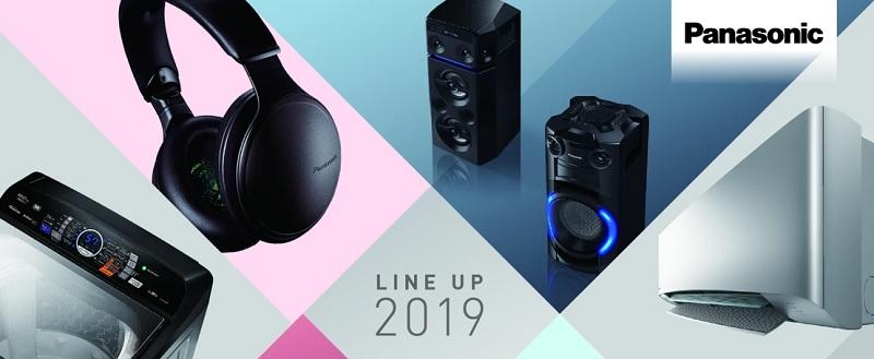 Panasonic presenta su línea de audio 2019