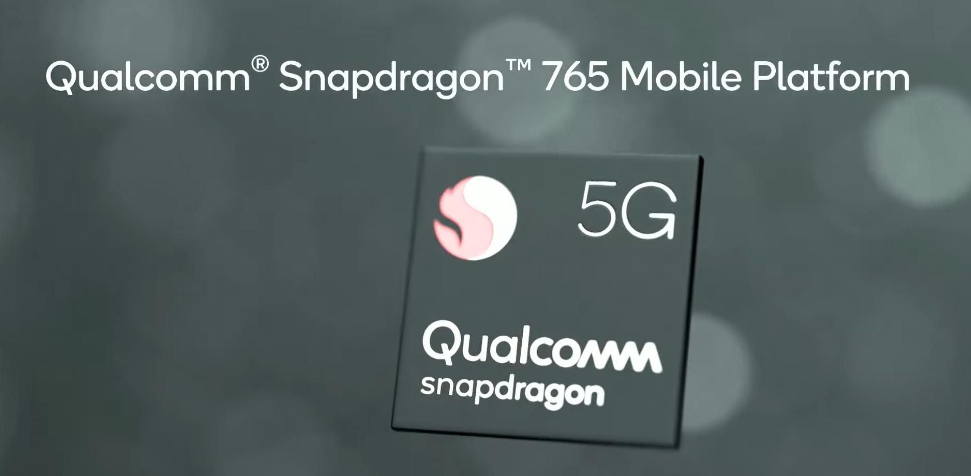 Resultado de imagen de snapdragon 765 g