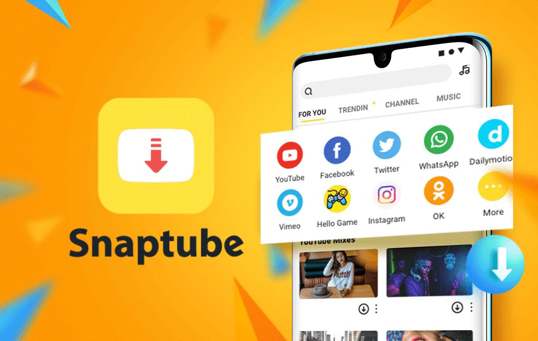 Porque o Snaptube é o melhor app para baixar vídeos e músicas?