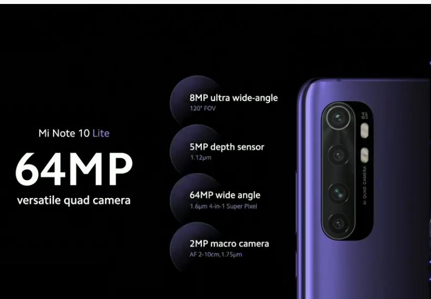 Xiaomi Mi Note 10 Lite es presentado desde 349 euros | PasionMovil