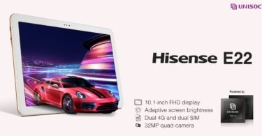 tablet hisense e22