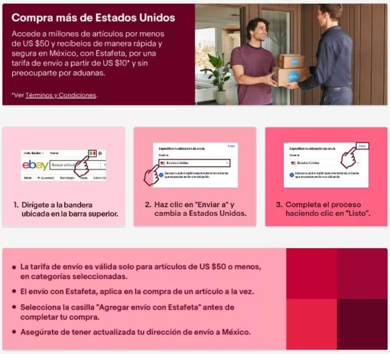 Ebay Hara Envios Directamente A Mexico Por Medio De Estafeta Pasionmovil